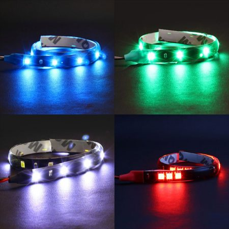 30cm Waterproof Flexible 15SMD LED DRL Daytime Running Lights