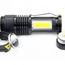 Compact High Power Aluminum LED Flashlight